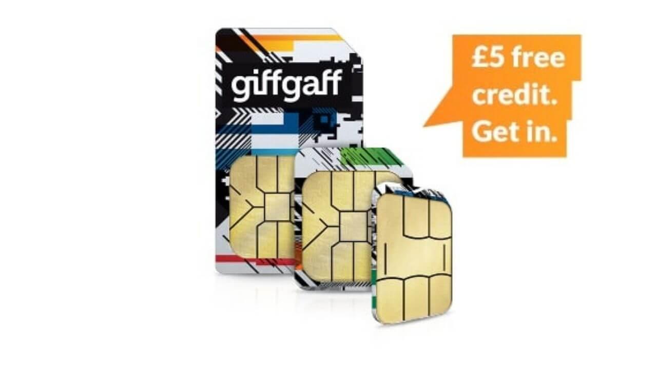 Get Free Giffgaff Sim in Pakistan