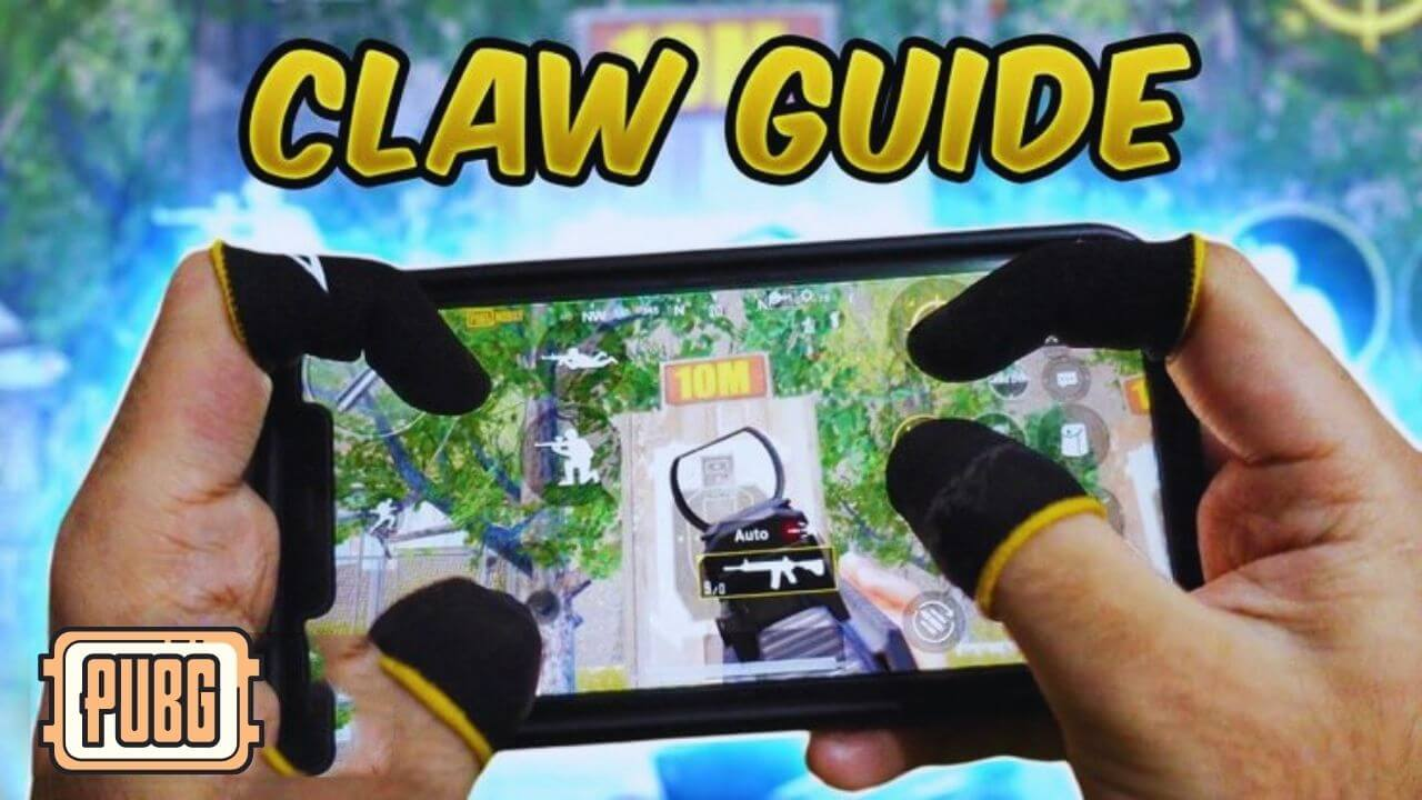 Easiest 4 Fingers Claw Setup in PUBG Mobile (Pro Players Claw Setup)